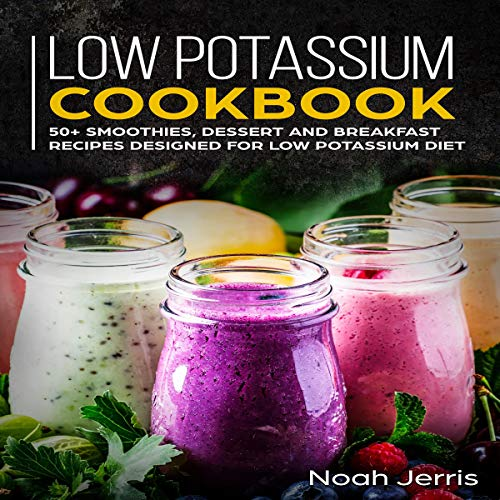 Low-Potassium Cookbook audiobook cover art