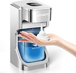 comprar comparacion AHUIFT Dispensador automático de jabón, dispensador de jabón espumoso eléctrico sin Contacto con Pantalla LCD Inteligente,...