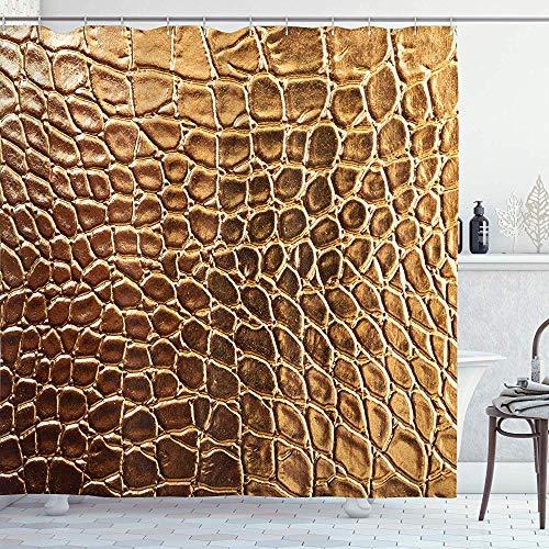 Wobuzhidaoshamingzi collectie van Stampe Animalier, krokodillenvel Gold Tinta Nature Life Hardheid Design van hoge gamma, Gold