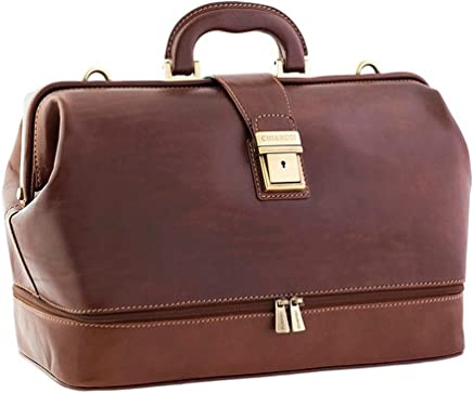 Chiarugi Italian Leather Doctor s Bag 3df6d3c05bf2a