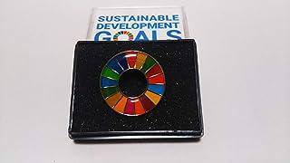 国連 SDGs ピンバッジ バッチ 1個(表面丸み仕上げ)