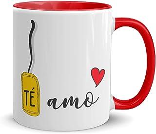 Kembilove Tazas de Desayuno para Parejas – Taza de Café Rojas con Mensaje Te Amo – Regalos Originales para Regalar en San ...