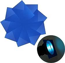 Neewer 9-Pack Gel Filter, Colored Overlays, Transparent Color Film Plastic Sheets, Correction Gel Light Filter for Photo Studio Strobe Flash, LED Video Light, DJ Light, etc. 11.8x7.9 inches (Blue)
