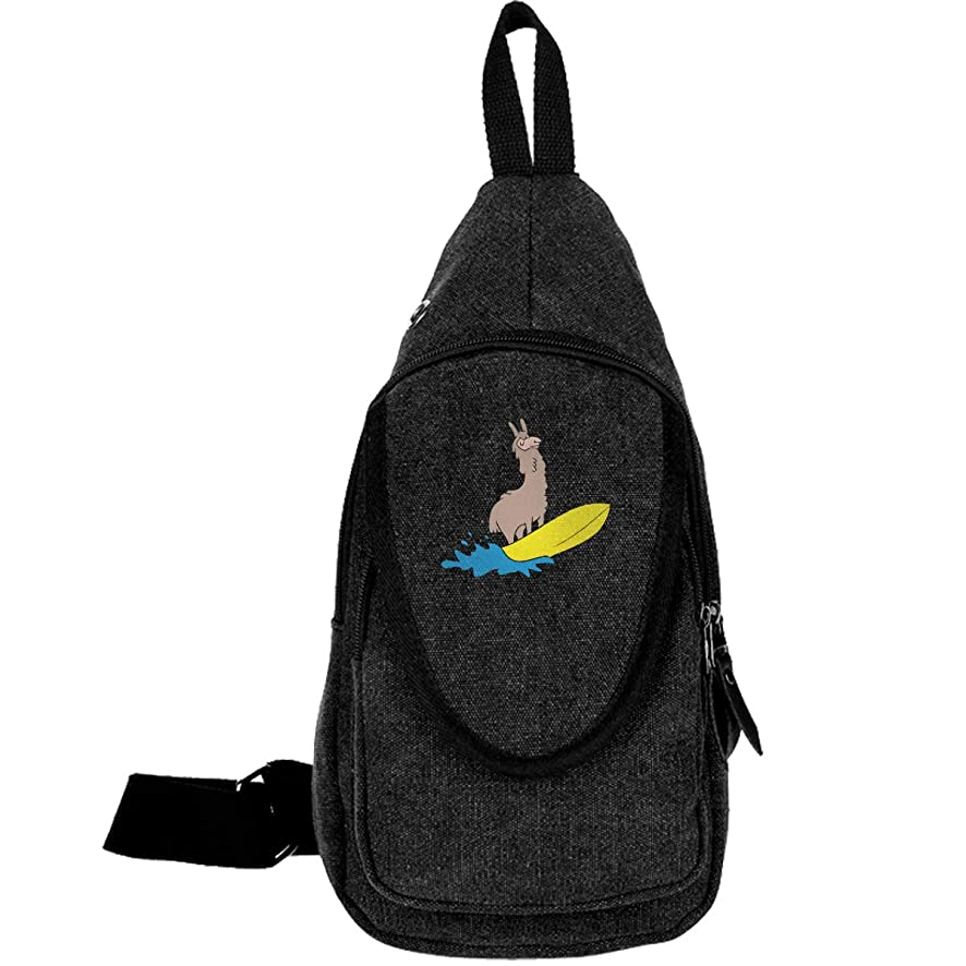 Llama Daypack For Men Women Shoulder Backpack Casual Running