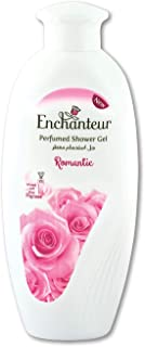 Enchanteur Romantic Shower Gel, Shower Experience with Fine Floral Fragrance, 250 ml, 2UE0702
