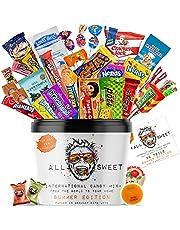 ALL SWEET 28 Teile Süßigkeiten aus Aller Welt Summer Edition, Amerikanische Süssigkeiten Box XXL, Süßigkeiten Großpackung die Mystery Box