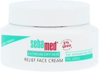 Sebamed Extreme Dry Skin Relief Face Cream 5% Urea. 1.7 Fluid Ounces (50mL)