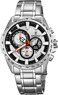 Festina Men's Multi Color Dial Stainless Steel Band Watch - F6864/1