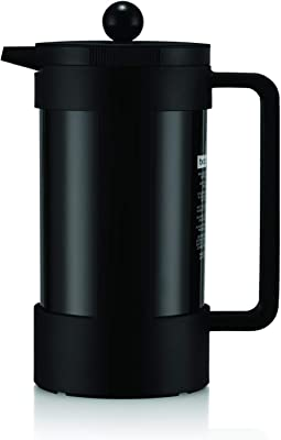 Bodum Bean Sustainable French Press Coffee Maker, 34 Ounce, Black
