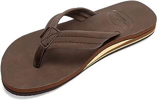 fanture Mens Flip Flops Arch Support Sandals Indoor and Outdoor Slipper
