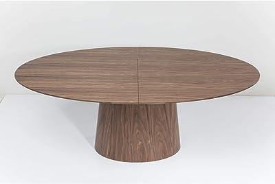 Kare Design Ausziehtisch Benvenuto Walnut 200(50)x110cm