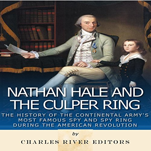 Nathan Hale and the Culper Ring audiobook cover art