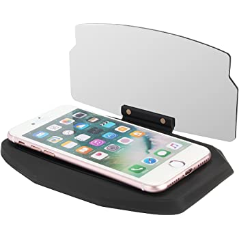 HUD panel reflectante, soporte universal para móvil en el coche ...