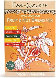 Food to Nourish Food to Nourish Organic Paleo Fruit and Nut Bread Mix 450 g