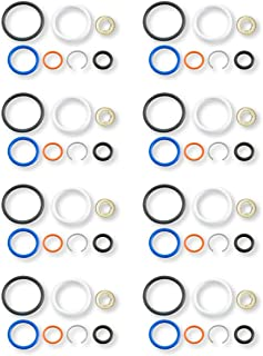 Fuel Injector Seal Kit For 6.0L PowerStroke G2.8 Complete With Top Seal /& Clip X8