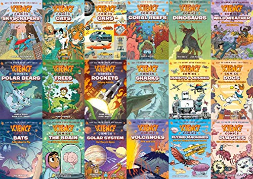 Science Comics Series 18-Book Set