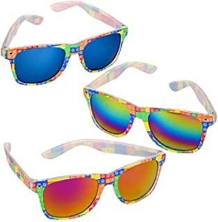 08d6c434ceb4 Bargain World Block Sunglasses 12/(With Sticky Notes)