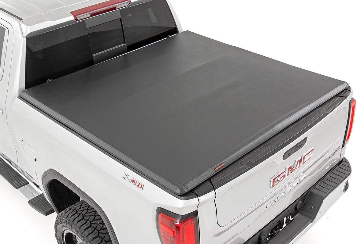 Rough Country Seasonal Wrap Introduction Soft Tri-Fold fits Chevy sale Silverado 2019-2021 GMC