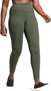 1747b3d57a6f38 Joylab Womens Plus Premium High Waist Long Leggings, Olive Green, 2X