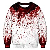 Herren Damen Ugly Weihnachtspullover 3D Gedruckt Weihnachten Jumper Ugly Christmas Pullover M-XXL,M