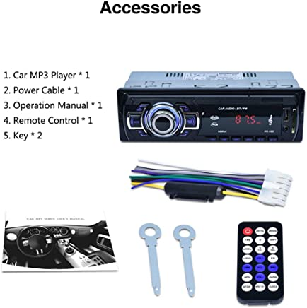 Ogquaton Premium decoder board FM MP3 player car stereo DC12V MP3 digital coder board audio module with remote control convenient