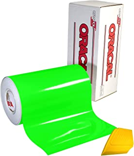 ORAFOL ORACAL 6510 Fluorescent Green Cast Vinyl Wrap 12