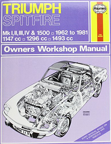 Triumph Spitfire (62 - 81) Haynes Repair Manual (Haynes Service & Repair Manual)