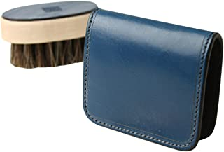 (ファイブウッズ) FIVE WOODS CASK キャスク ボックスケース 「BOX CASE」 ブルー系 日本製 ブライドルレザー 本革 メンズ 小銭入れ 38062 wl3692