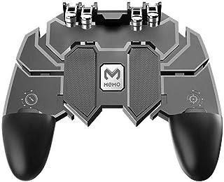 Karma Enterprise Garena Free Fire, COD, PUBG Trigger 6 Finger Mobile Game Controller - L2R2 Gaming Grip Mobile Joystick Ga...