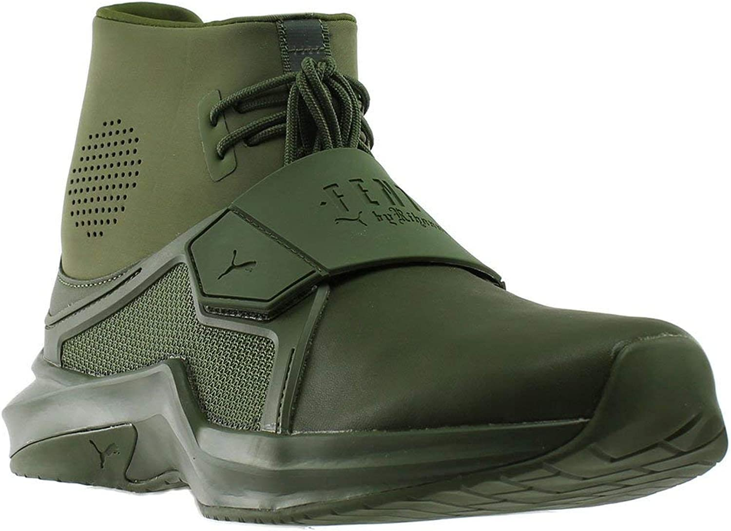 PUMA Women's The Trainer Hi by Fenty Ankle-High Fashion Sneaker