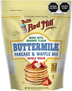 Bobs Red Mill, Harina Buttermilk Orgánica Para Hot Cakes, 737 Gr.