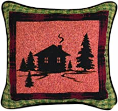 Manual The Lodge Collection Reversible Throw Pillow, 12.5 X 12.5-Inch, Bear Lodge Cabin