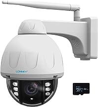 【5MP+PTZ】CCTV-camera draadloos buiten met pan/kantelen/zoom PTZ IP-camera voor thuisbeveiliging, 2-weg audio, menselijke b...
