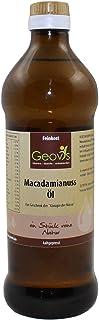 Geovis - Aceite de nueces de macadamia, natural, prensado en frío, la reina de las nueces, ideal para hornear, asar y coci...