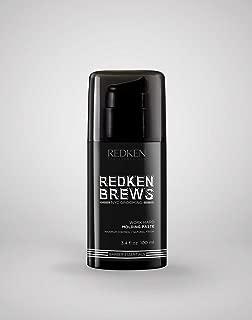 Redken Brews Work Hard Maximum Control Molding Paste 3.4 oz. Pack of 3