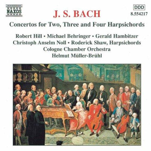 Concerto 2 Keyboards in C minor, BWV 1062: II. Andante e piano