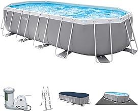 Intex 20Ft X 10Ft X 48In Prism Frame Oval Pool Set