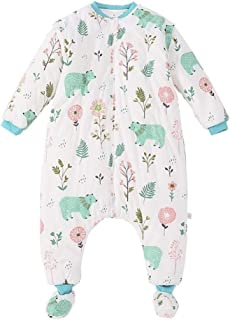 High quality Legs baby sleeping bag baby anti Tipi thick autumn and winter pajamas for children 0-3 years old conjoined wi...