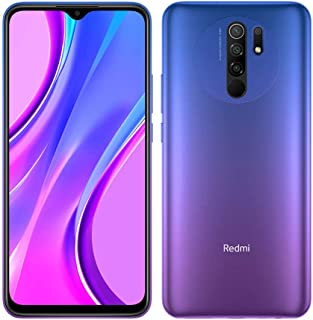 "Xiaomi Redmi 9 Unlocked RAM Dual Sim 32GB 3GB RAM 6.53"" International Global Version (Sunset Purple)"