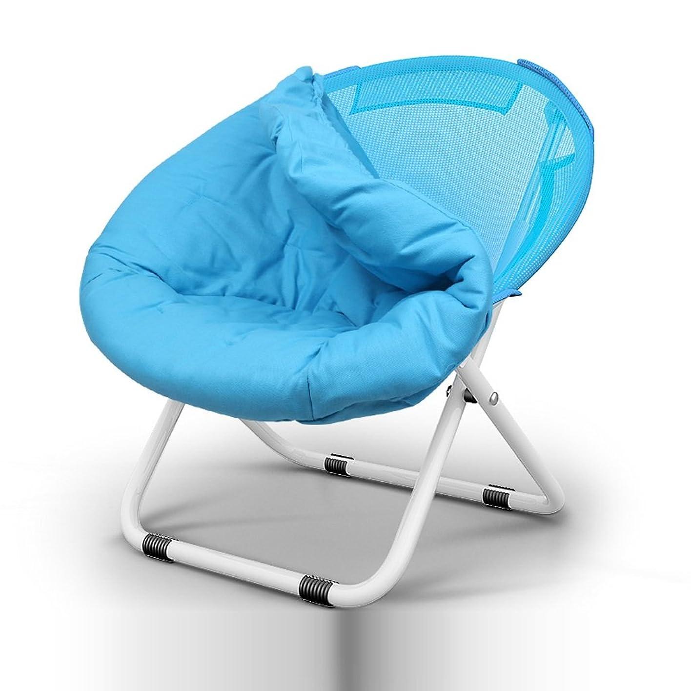 メルボルン補う飛ぶNYDZDM 屋外キャンプ折りたたみチェア&ポータブルムーンチェア超軽量金属製の椅子&レジャースケッチチェア