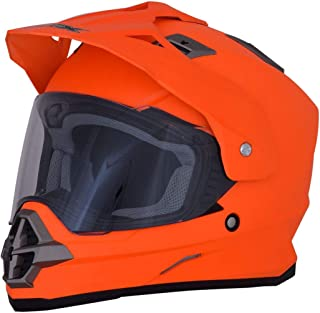 AFX FX-39DS Helmet (Medium) (Matte NEON Orange)