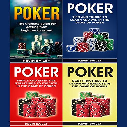 Poker Books: 4 Books in 1 audiobook cover art