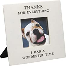 Thanks For Everything I Had A Wonderful Time - In Memory Of Pet Picture Frame by House Parts