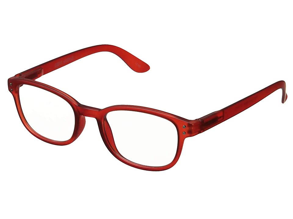 Corinne McCormack Color Spex with BluePro Lens Technology Readers (Red) Reading Glasses Sunglasses