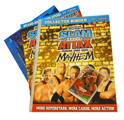 WWE Wrestling Slam Attax Mayhem Starter deutsch