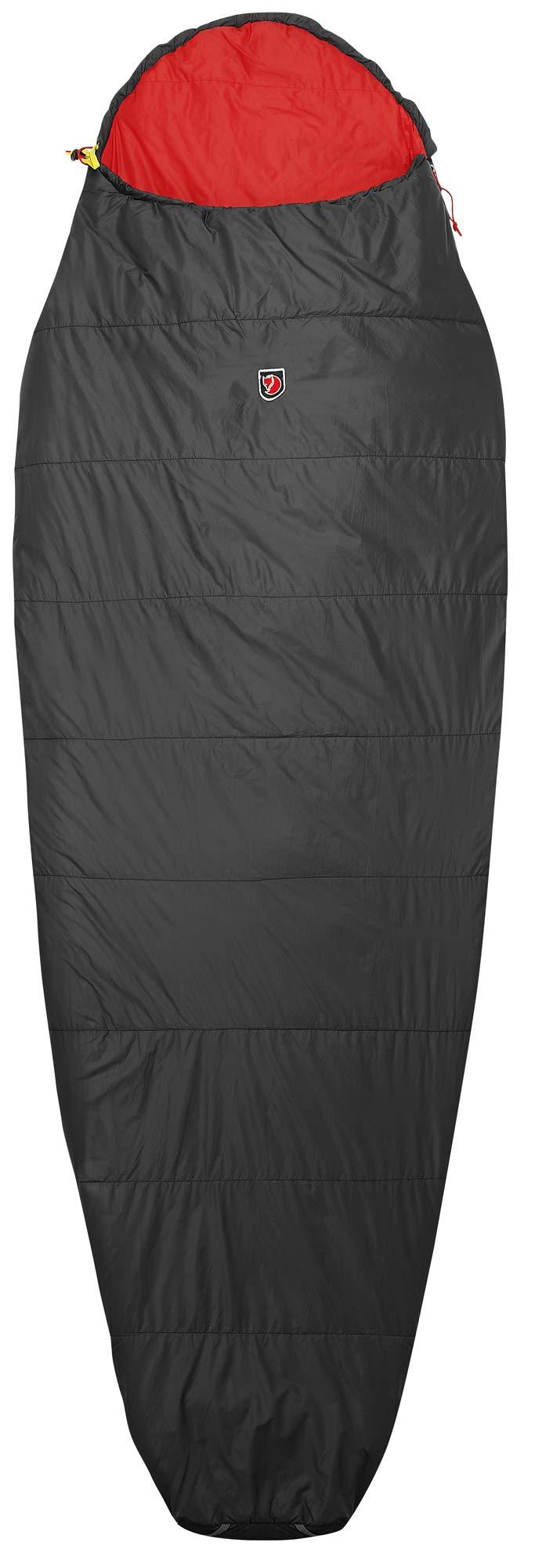 Fjällräven Unisex-Adult Funäs Lite Long Sleeping Bag, Dark Grey, OneSize