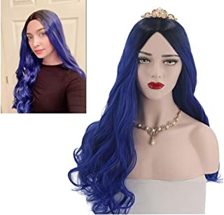 4 Pcs Halloween Kids Hair Wig Clips-Kids Hair Extensions Princess Hair Clips in Biclor Wig for Cosplay Festival Party Costumes Hair Accessory