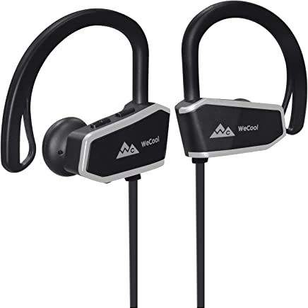 WeCool WCZ10 Premium Sports Wireless Bluetooth Earphones with Mic for Music and Hands-Free Calling + Free Carry Case