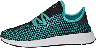 adidas Men's Deerupt Runner (Aqua Black, 11.5 D(M) US)