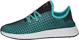 adidas Men's Deerupt Runner (Aqua Black, 9.5 D(M) US)